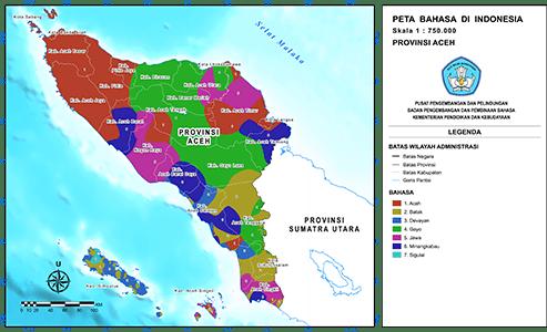 Peta Bahasa Balai Bahasa Provinsi Aceh